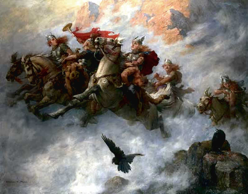 The Ride of the Valkyries(William T Maud)