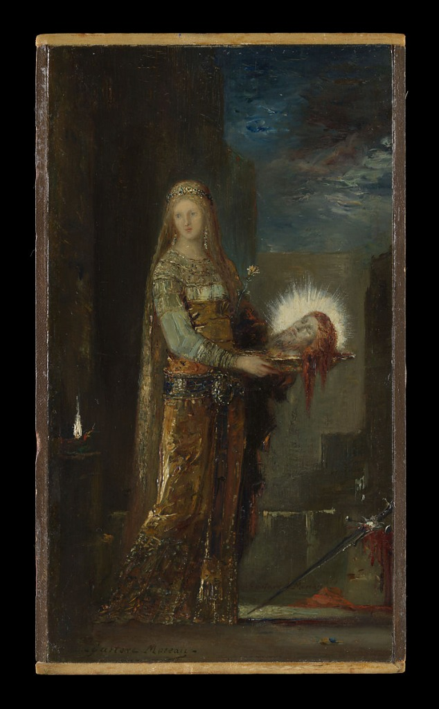 『Salome with the Head of John the Baptist(サロメと洗礼者ヨハネの頭部)』Gustave Moreau(ギュスターヴ・モロー画)